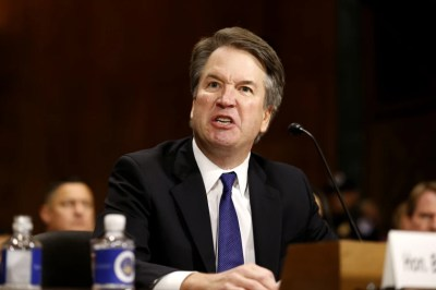 An angry, emotional Kavanaugh accuses Democrats of 'search and destroy'