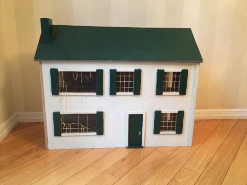 Medium Of Wooden Doll House