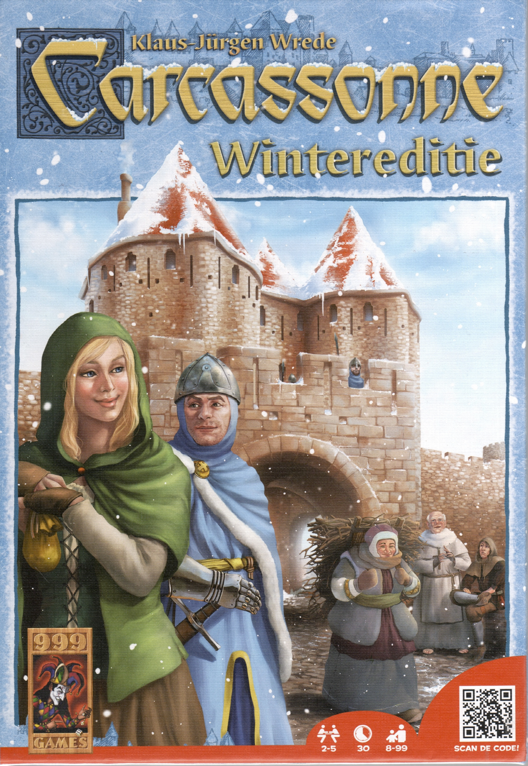 Carcassonne Kopen 999 Games Carcassonne Wintereditie