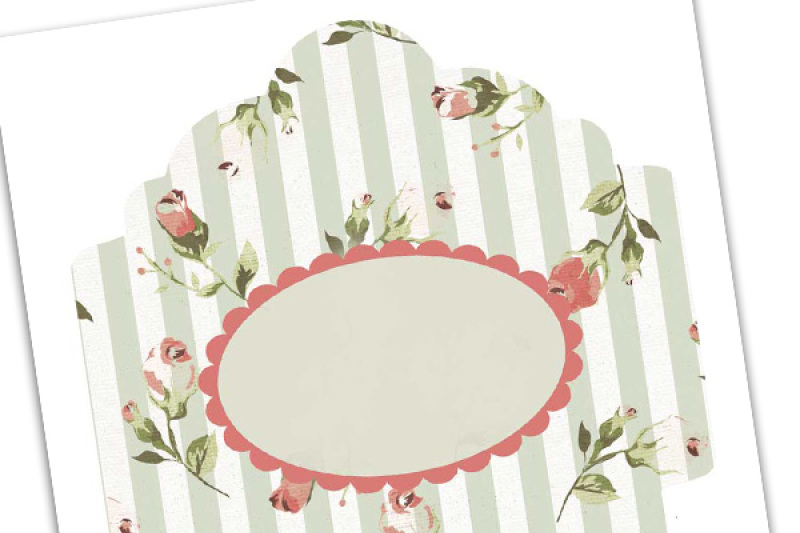 Printable Envelope Shabby Chic Pdf By Ephemoire