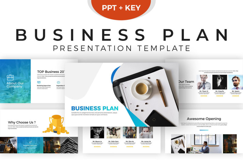Business Plan Presentation Template By DigitCase TheHungryJPEG