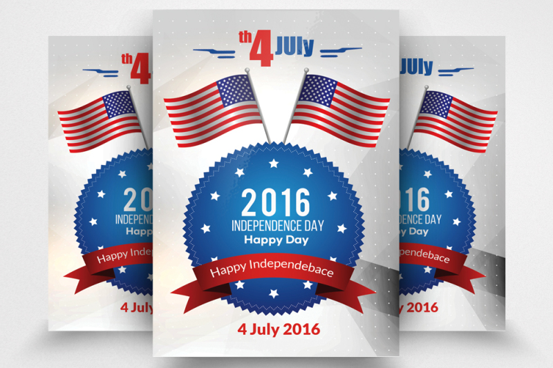 Independence Day Flyer Template By Designhub TheHungryJPEG