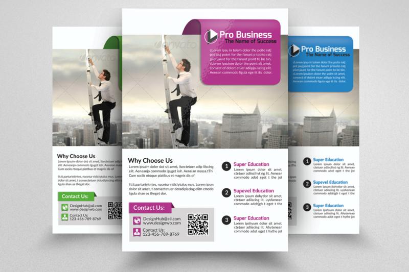 Employment Business Flyers Psd By Designhub TheHungryJPEG