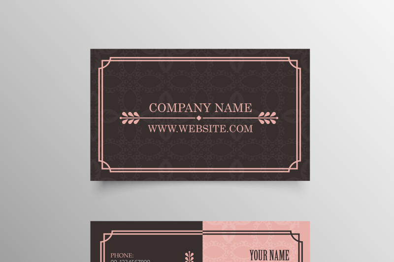 18 Professional Personal Business Cards Template By CreativeDesign