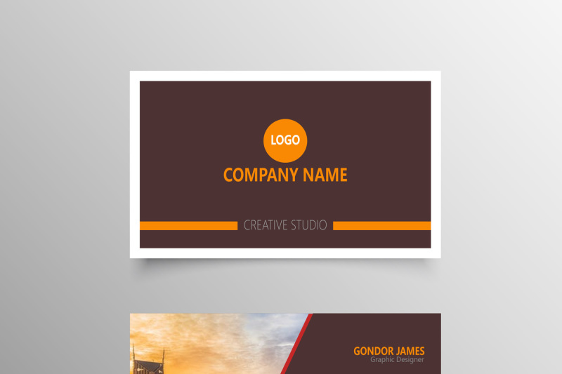 Professional Personal Business Cards Template By CreativeDesign