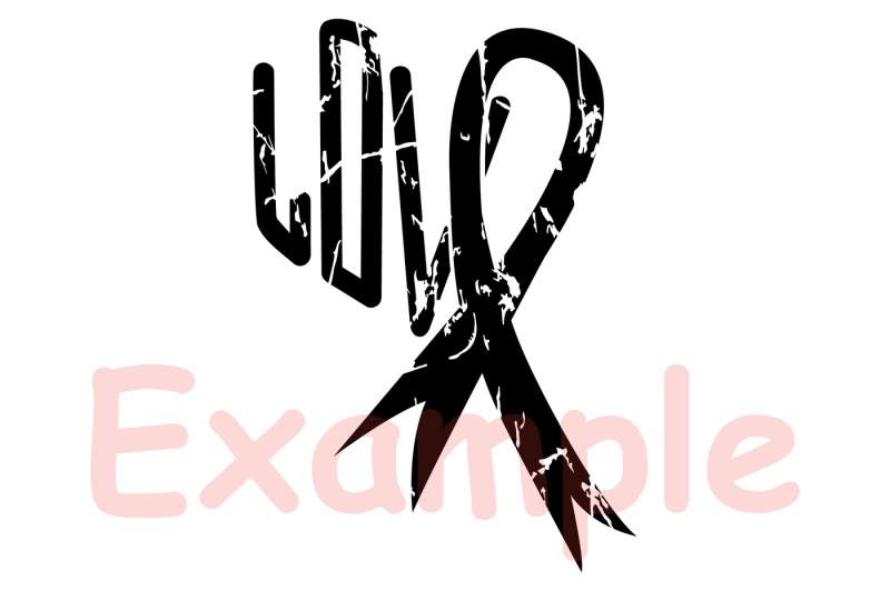 Breast Cancer awareness SVG cut file printable pink ribbon 934S By