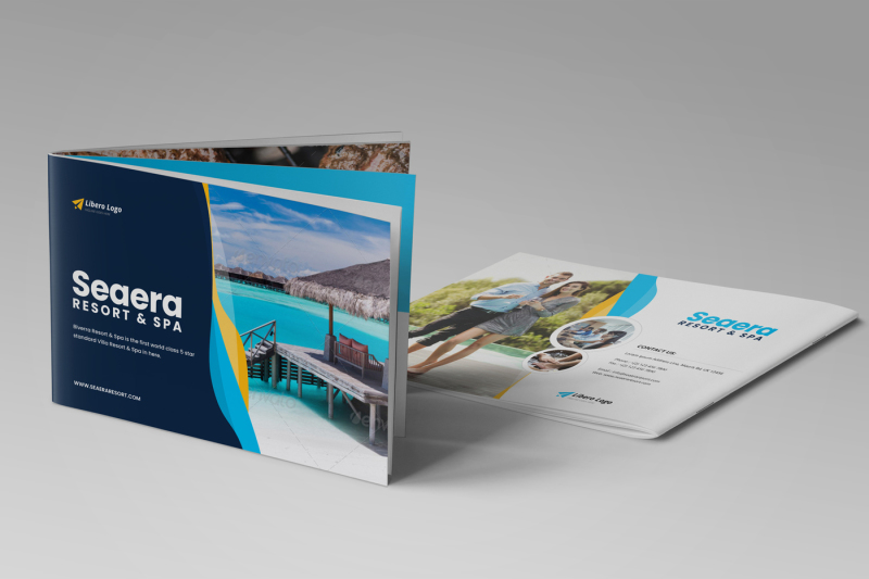 Travel Resort Brochure Design v2 By Jabinh7 TheHungryJPEG