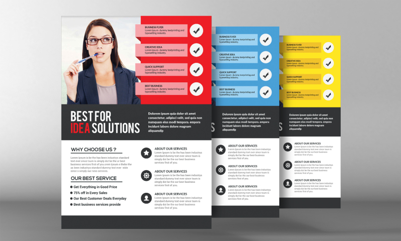 Doctor\u0027s Office Flyer Template By Business Templates TheHungryJPEG