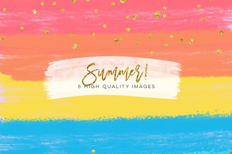 Summer Blobs Paper, summer party texture invitation, summer