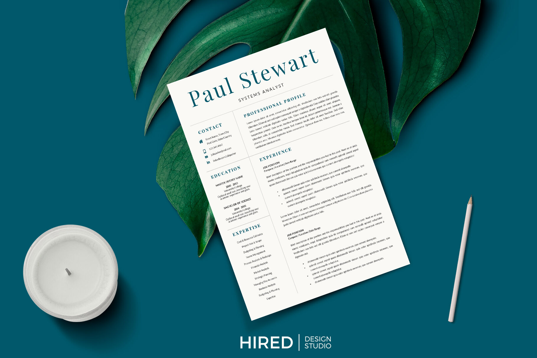 how to display references on a resume