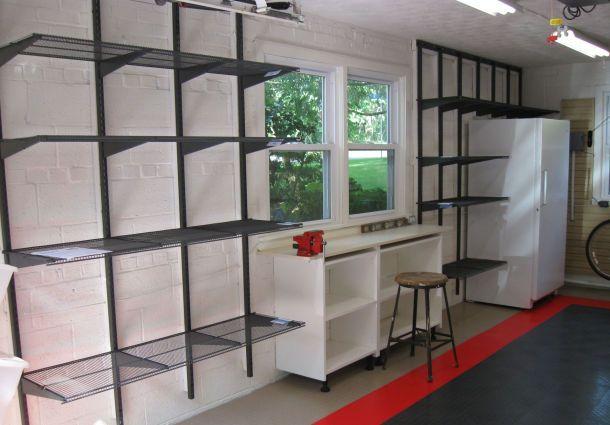 Umgebaute Garage Stauraum Ist Mangelware Bauemotionde