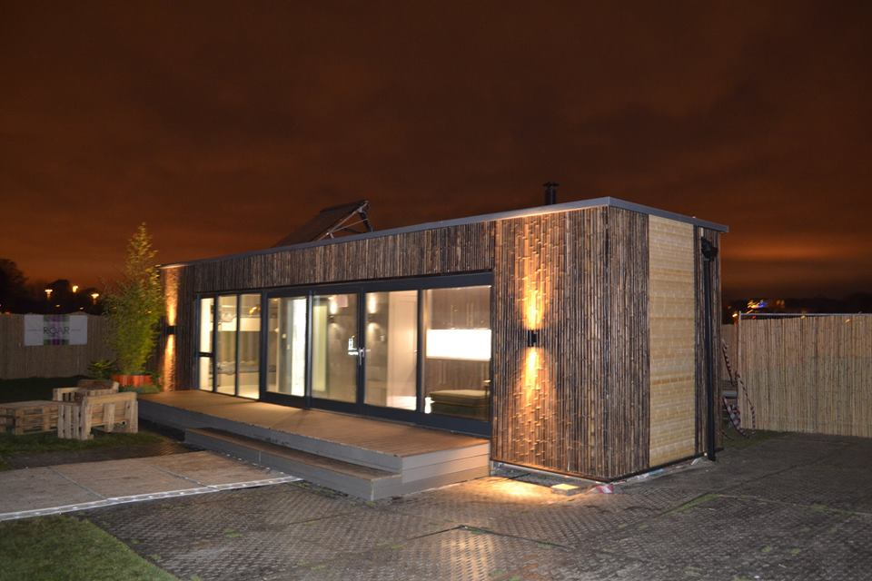 Container Wohnen Family Container Home Donated For The Homeless