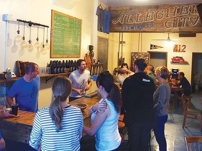 Allegheny City Brewing Is A New Neighborhood Spot Drink