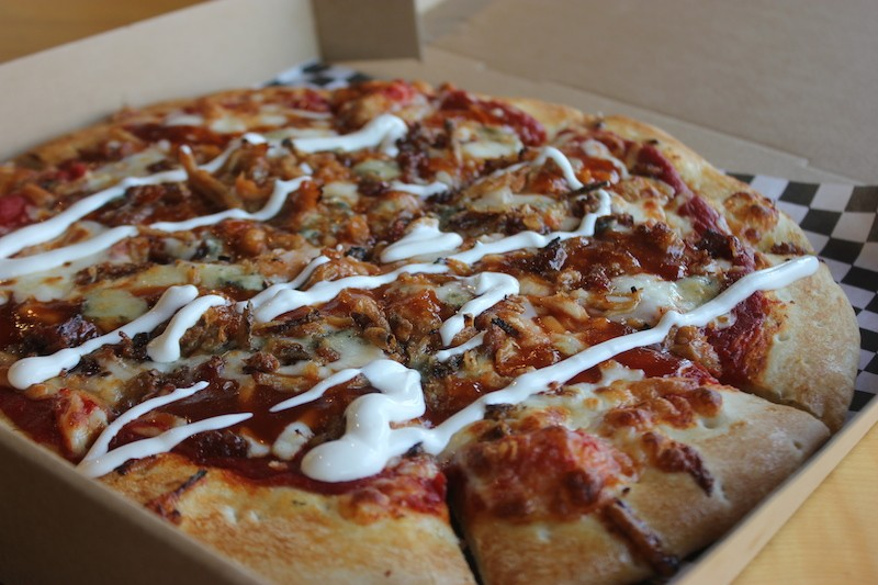 Blue Box Pizza Is Now Open in the Loop, Offering a Little Bit of