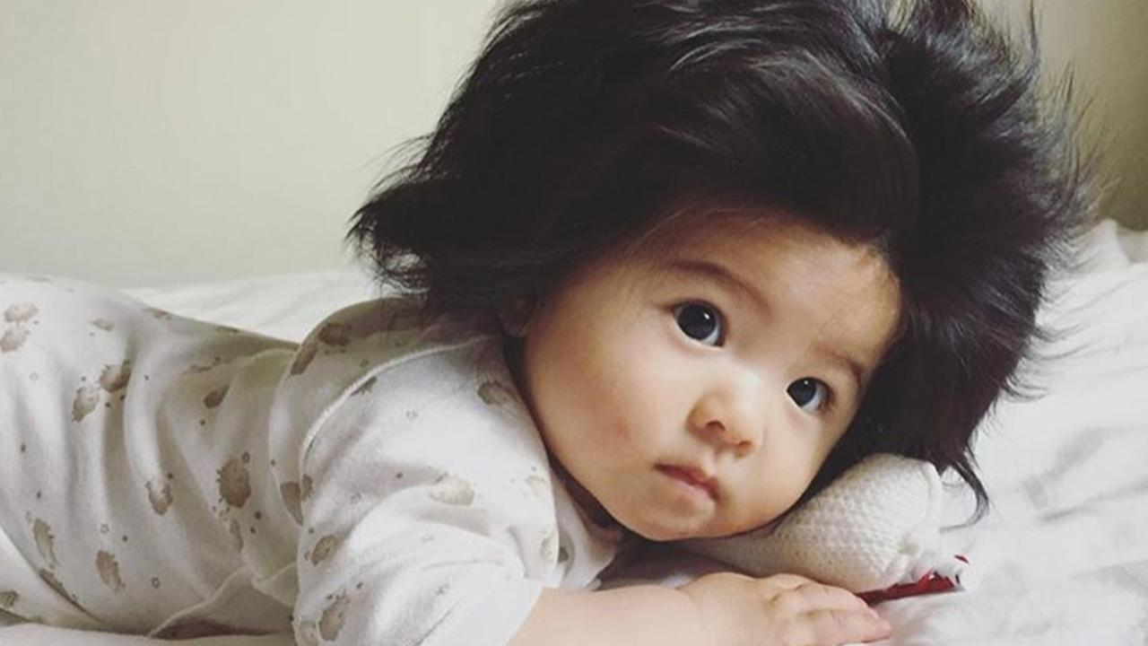 Baby Lot Japanese Baby With Major Hair Goes Viral | Fox News