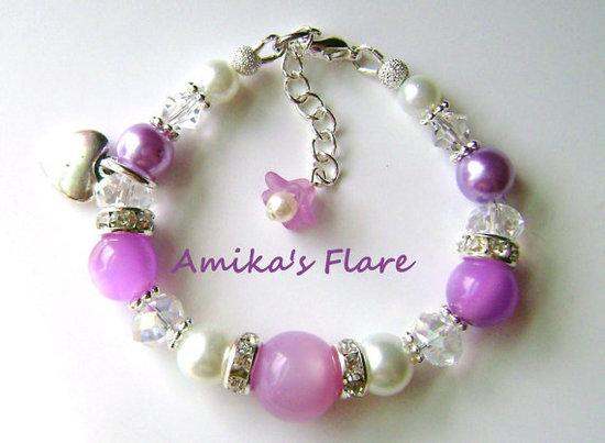 Girl's Swarowski bracelet