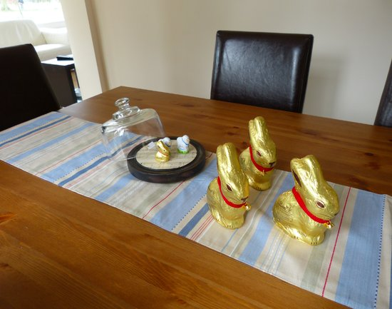 Lindt Easter bunnies and sheep