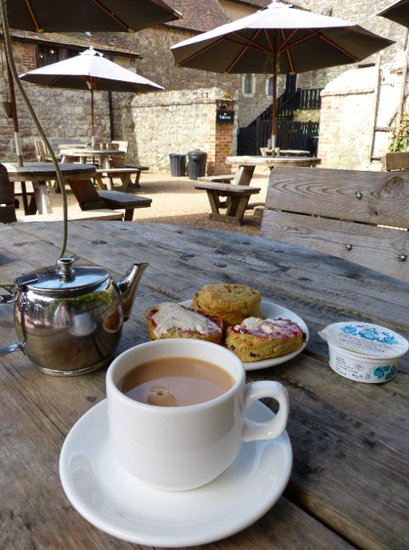 Cream Tea at the castle - Knole Park