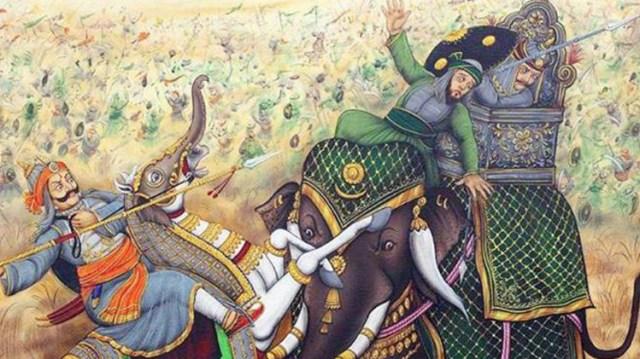 महाराणा और अकबर की जंग..