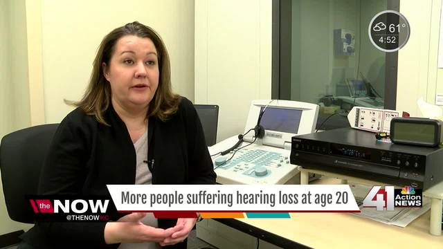 CDC study finds young adults are already losing some hearing - KSHB - jobs for people with hearing loss