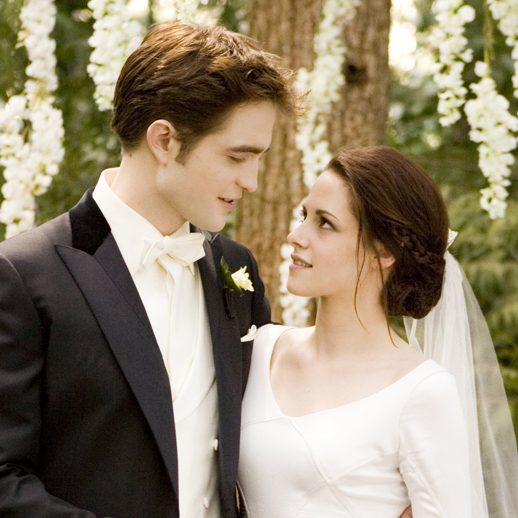 Breaking Dawn Hochzeit Twilight Breaking Dawn Wedding Pictures Popsugar