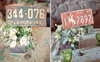 License Plate Table Numbers
