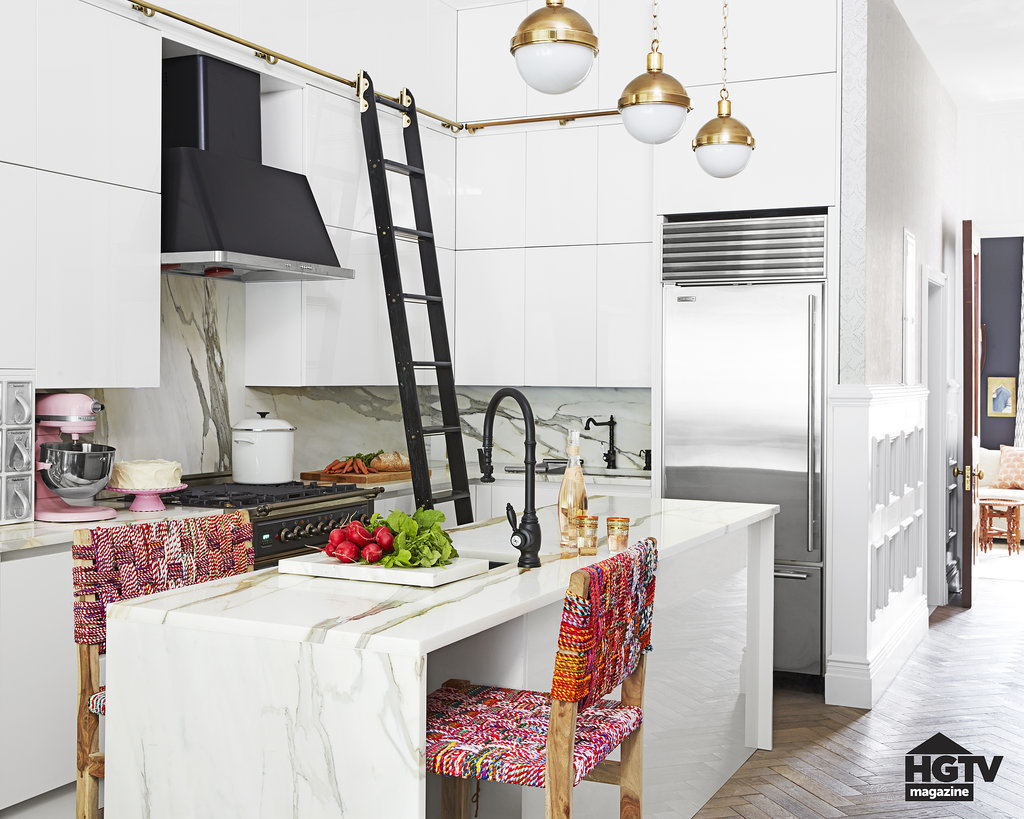 Kitchen Decor Ladder Add A Library Ladder 5 Daring Design Ideas From This