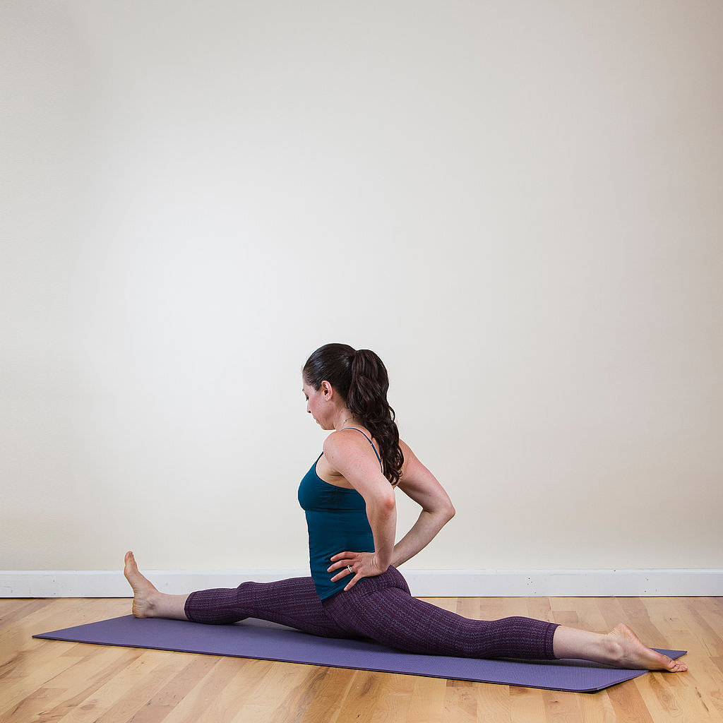 Split Wit Stretches To Help You Do The Splits Popsugar Fitness