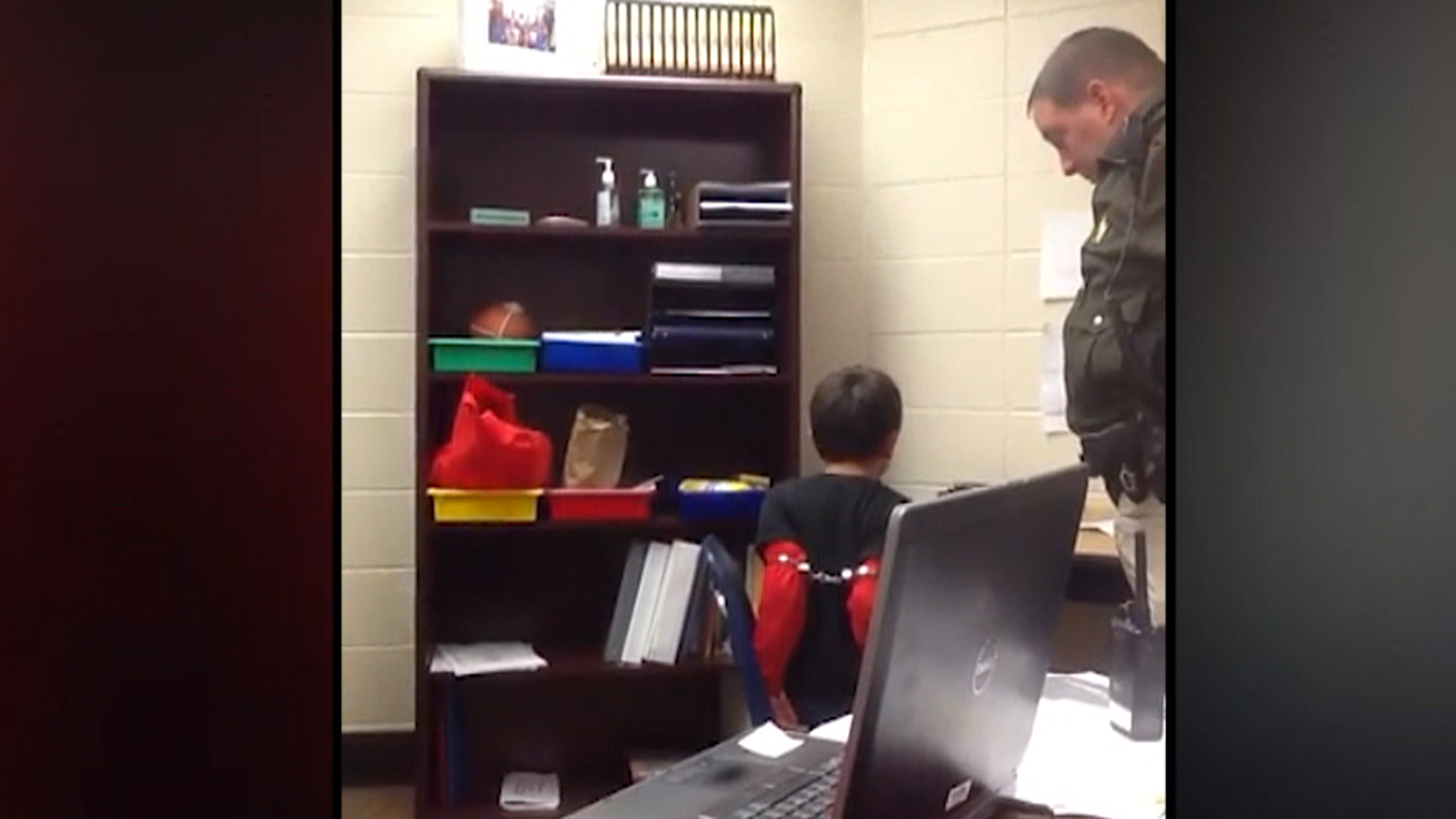 Police Officer Girl Wallpaper Video Emerges Of Boy With Adhd 8 Handcuffed At School