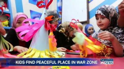 The Safe Haven For Children Amidst Crushing Syrian War Zone - NBC News