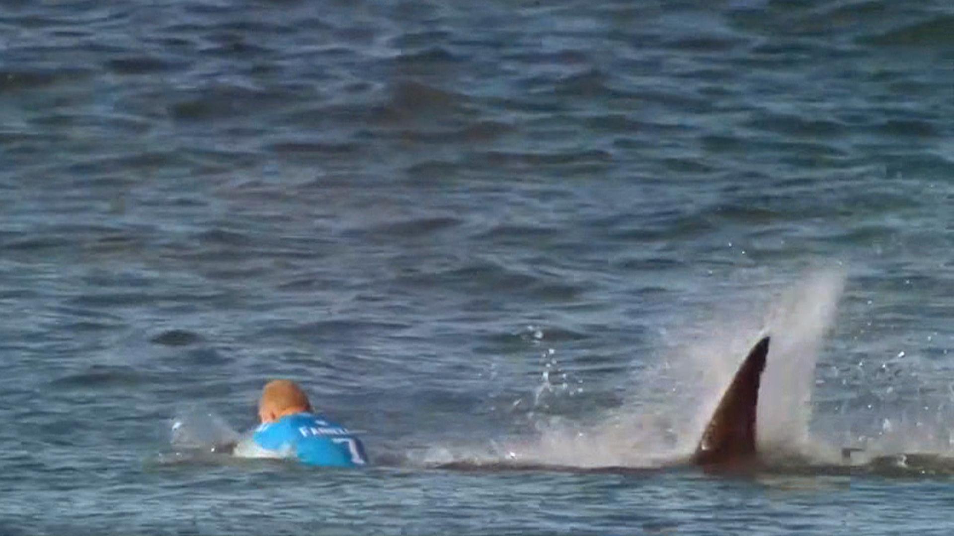 Surfer Girl Bali Wallpaper Watch Surfer Mick Fanning Fight Off Shark Attack Nbc News