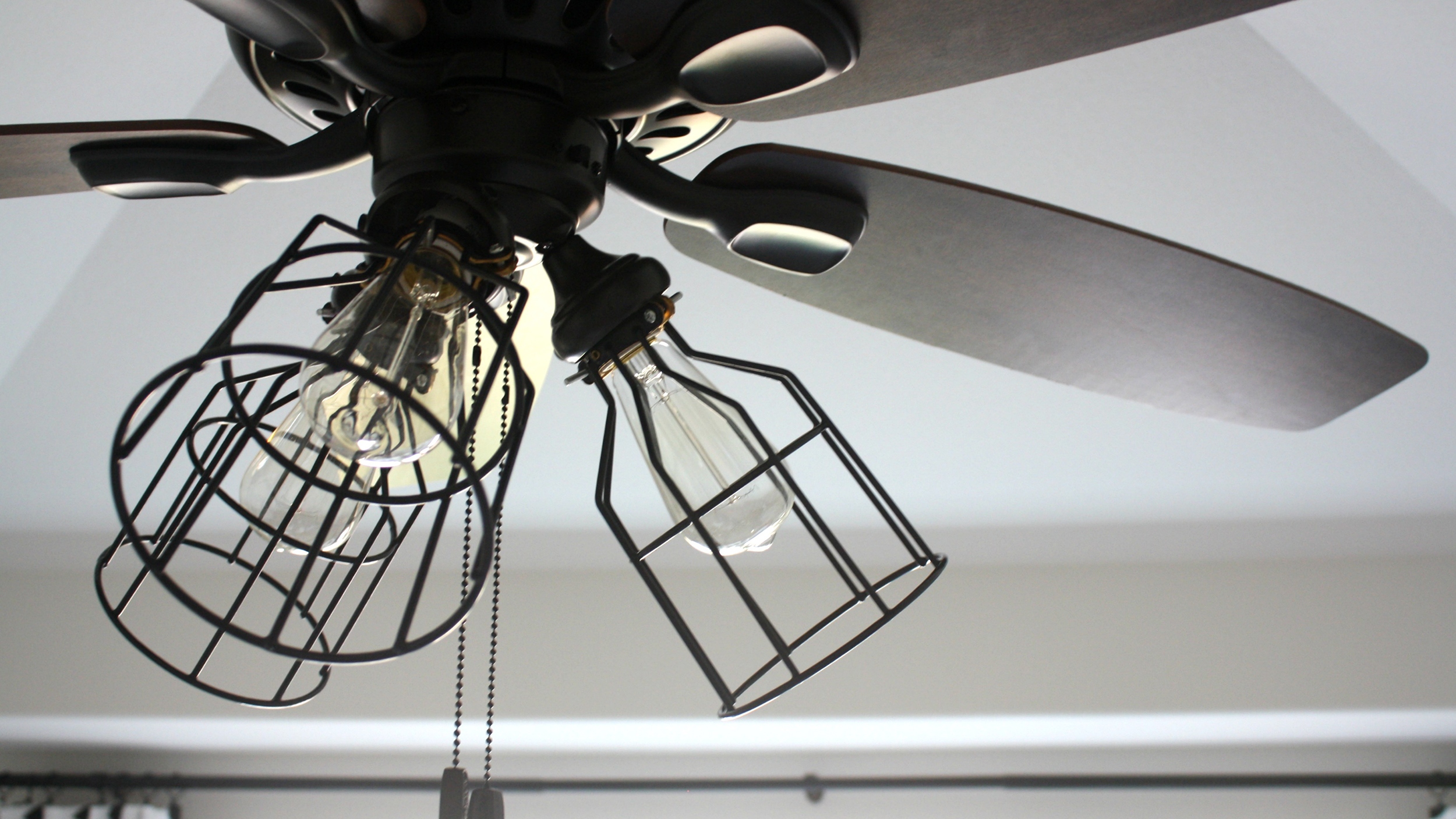 Rustic Ceiling Fan Light Fixtures Diy Makeover For Ceiling Fans