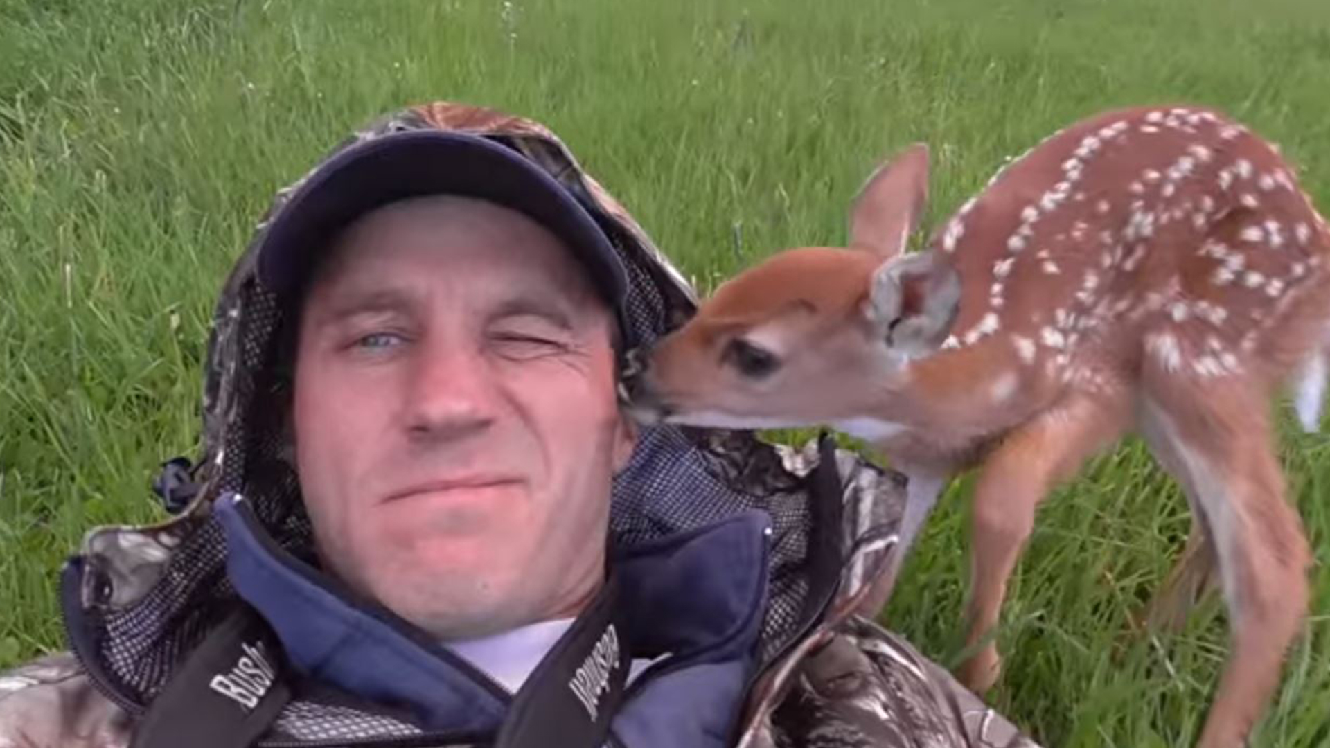 Cute Baby And Mother Wallpaper Man Rescues And Releases Abandoned Baby Deer In Sweet Video