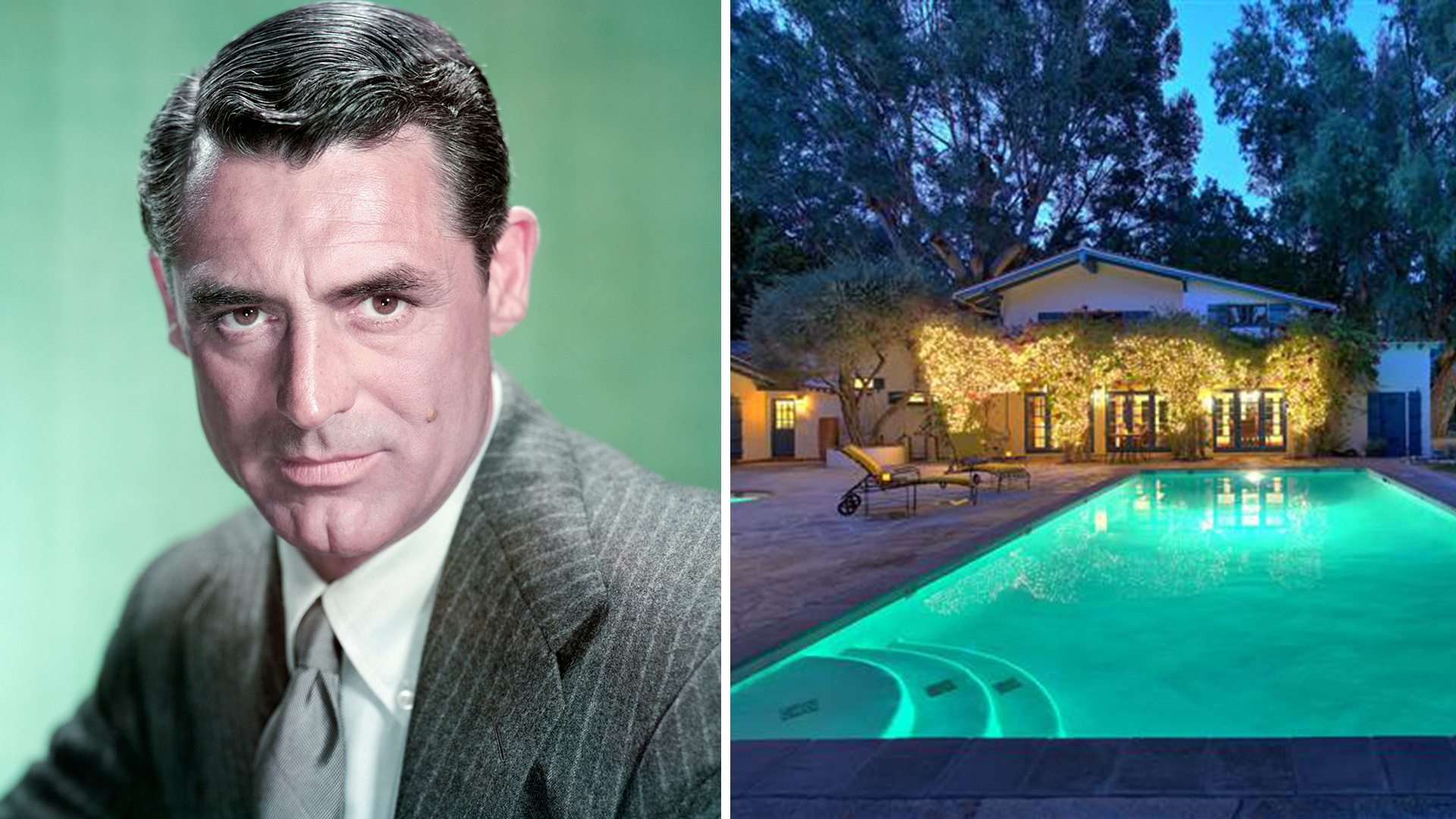 Two Story Living Room Cary Grant's Former Palm Springs Home Is For Sale - Today.com