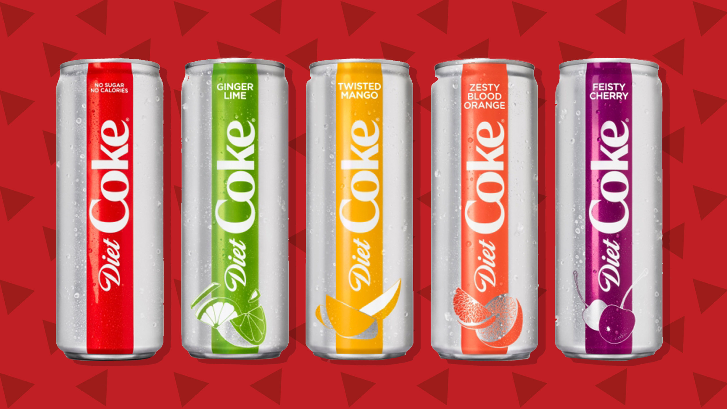 Diet Coke Diet Coke Unveils 4 New Fruit Flavored Sodas