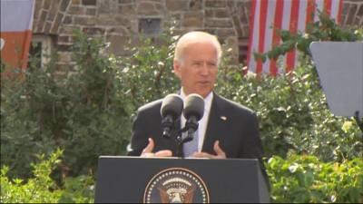 Joe Biden Warns of 'Demagogues Peddling Xenophobia'
