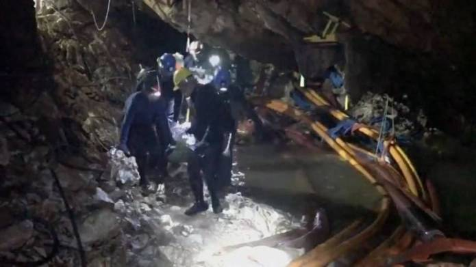 Thai cave boy reveals he thought rescuer was 'hallucination'