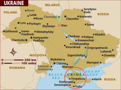 Ukraine's 'Dangerous Game': Why the Crimea Conflict Matters - NBC News