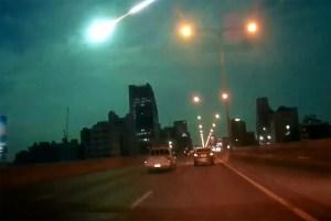 Apparent Meteor Streaks Across Thailand, Turning Night Sky Green - NBC ...