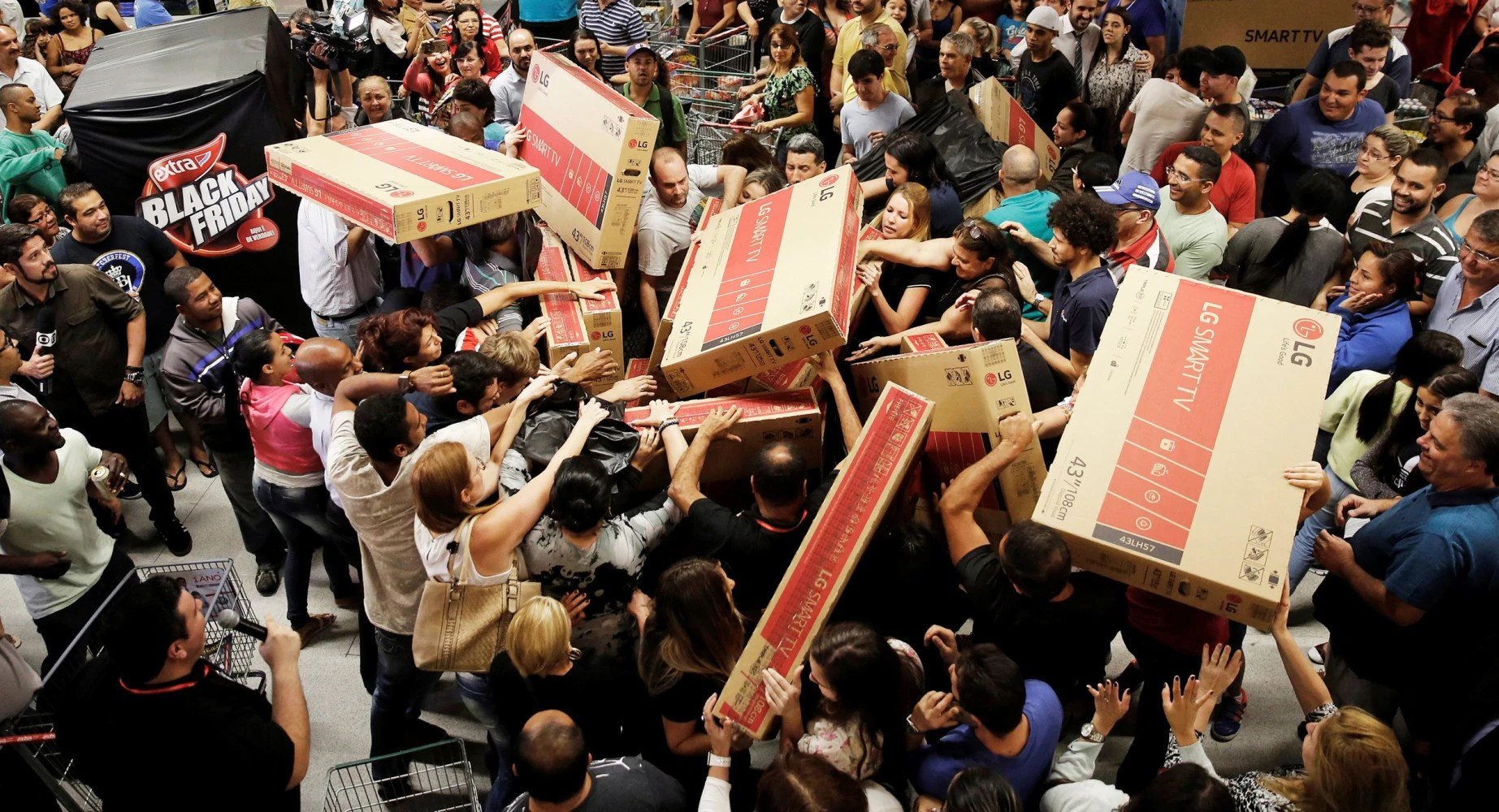 Back Friday Black Friday Online Sales Hit New High After Shoppers Snag