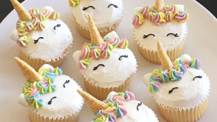 Unicorn Cupcakes - TODAY