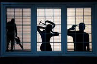 Spooky window silhouettes and other DIY Halloween ...