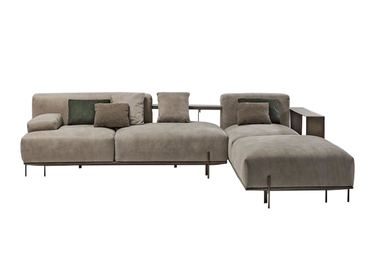 Ligne Roset Berlin Loft Sofa Blue Mohd Shop