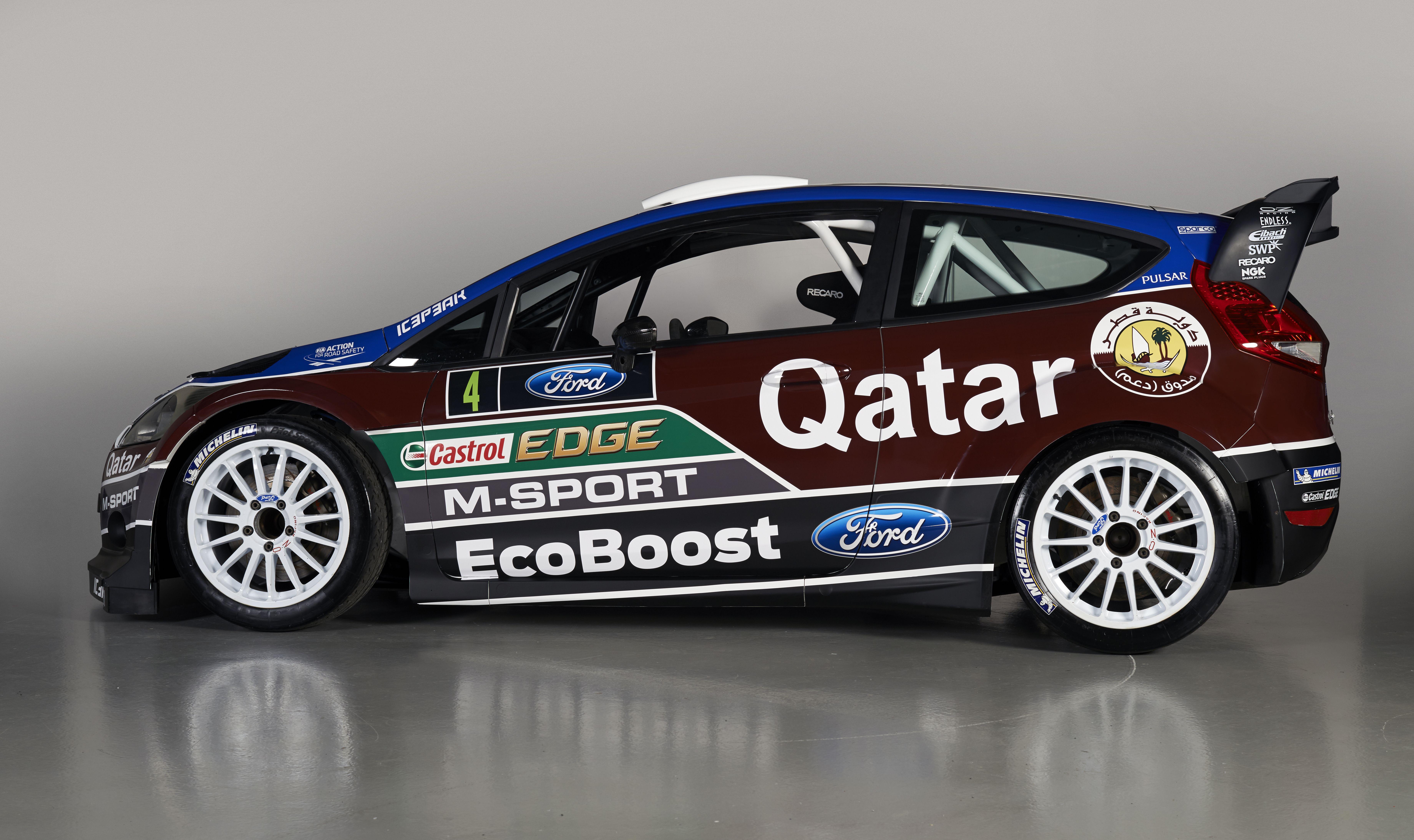 Nz Rally Calendar 2013 Chrissport Qatar M Sport World Rally Team Unveils 2013 Wrc Challenger