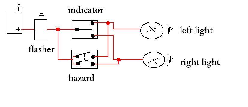Hazard Light Wiring Diagram Wiring Diagram