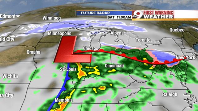 Cincinnati Weather Forecast Interactive Radar Map 7 Day ...