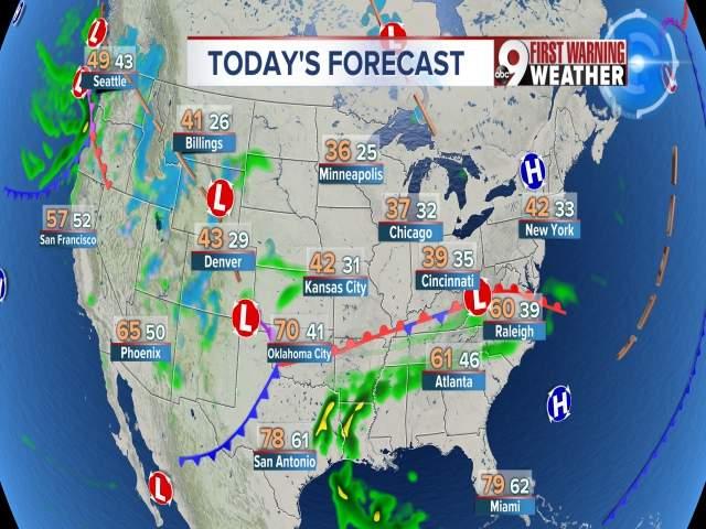 weather channel forecast cincinnati ohio