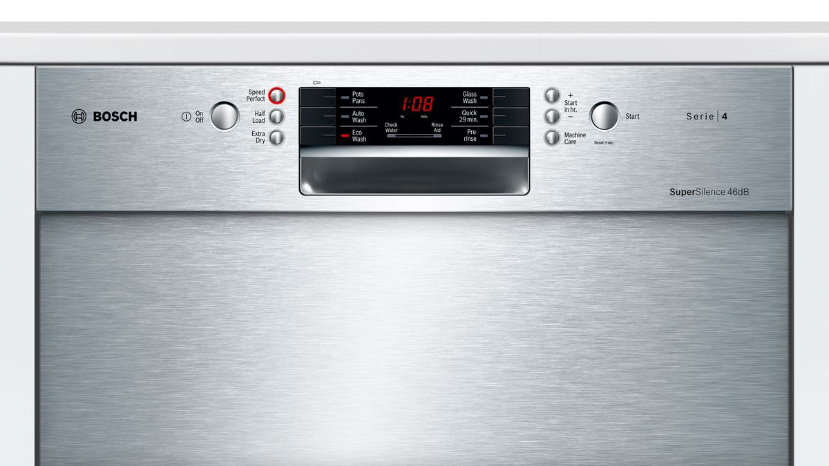 60 Cm Anti Fingerprint Stainless Steel Built Under 60 Cm Dishwasher