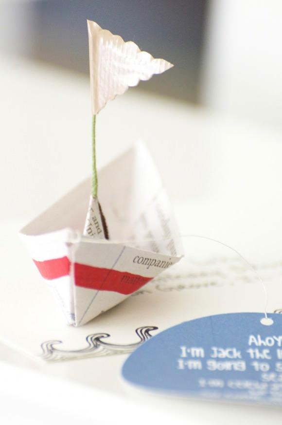 foldable invitation