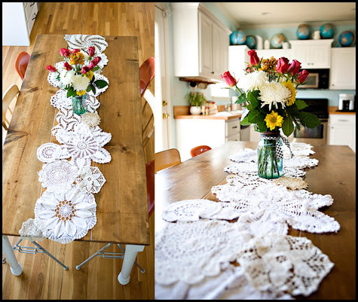 Granny chic - doilies